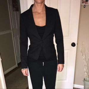 H&M Jackets & Coats - H&M fitted black blazer size 2 small